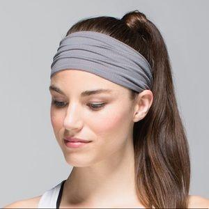 lululemon Bang Bust Headband Slate Gray